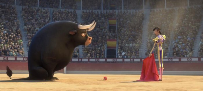 Ferdinand: a warm homage to a great bull