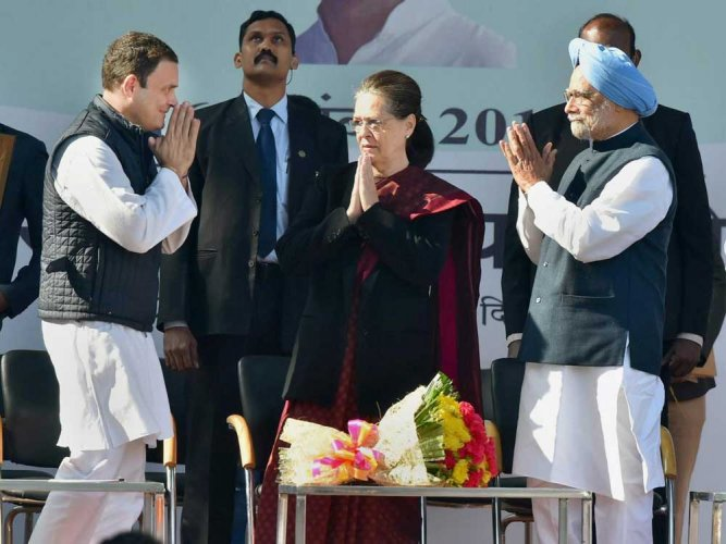 Rahul will lead the party with courage, dedication: Sonia Gandhi