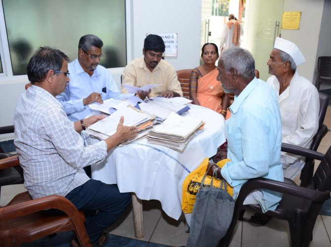 145 cases cleared in Pension Adalat