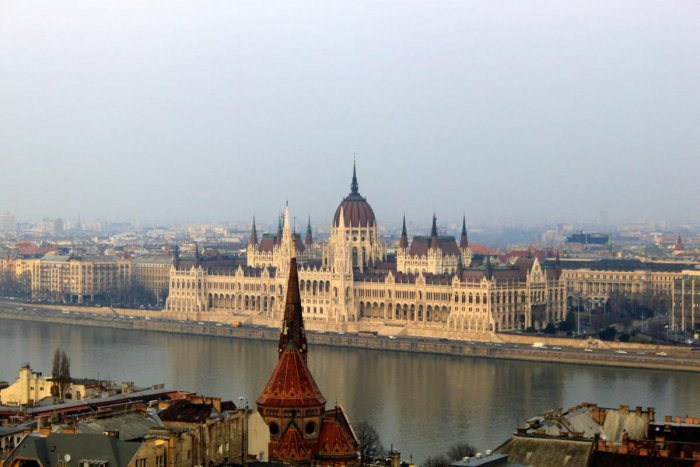 The two halves of Budapest