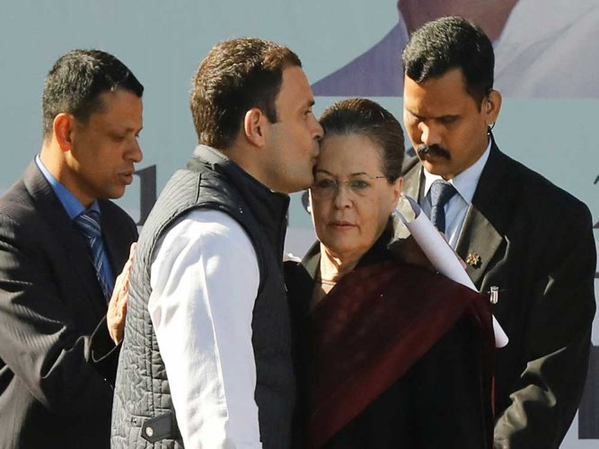 Sonia recalls first steps in politics, pledges never to retreat