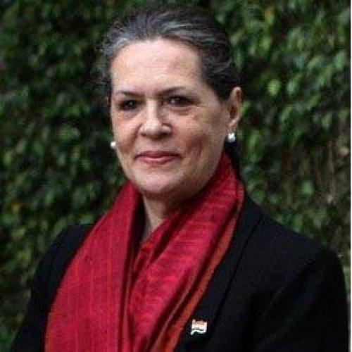 Sonia recalls first steps in politics