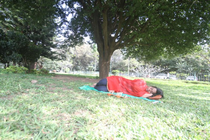 How these women turn catnap into a fight to claim public space