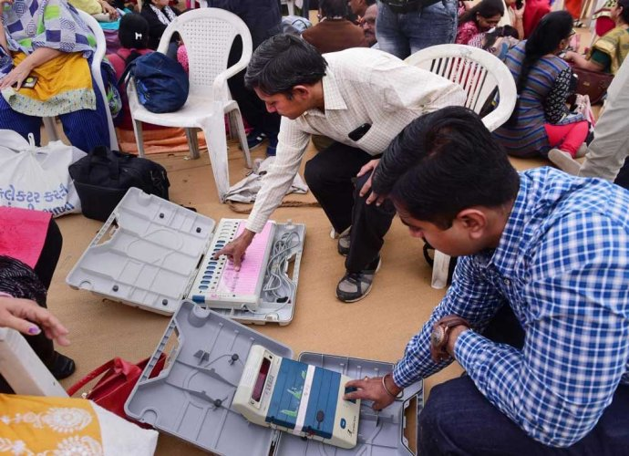 Wi-Fi service suspended near EVMs in Surat after complaint