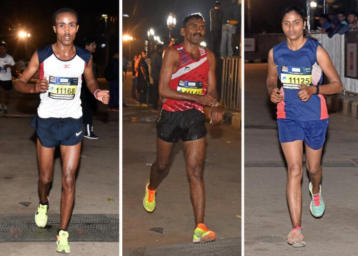 Ethiopians sweep midnight marathon