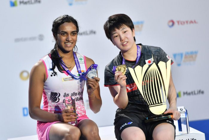 Sindhu falters in the final