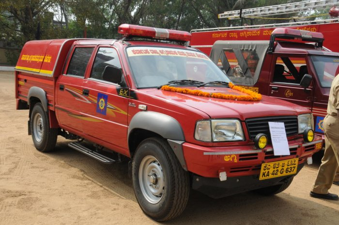 City to deploy smaller firefighting vehicles