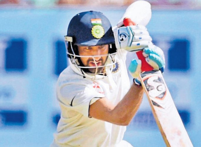 Pujara grabs third spot in ICC Test Player Rankings