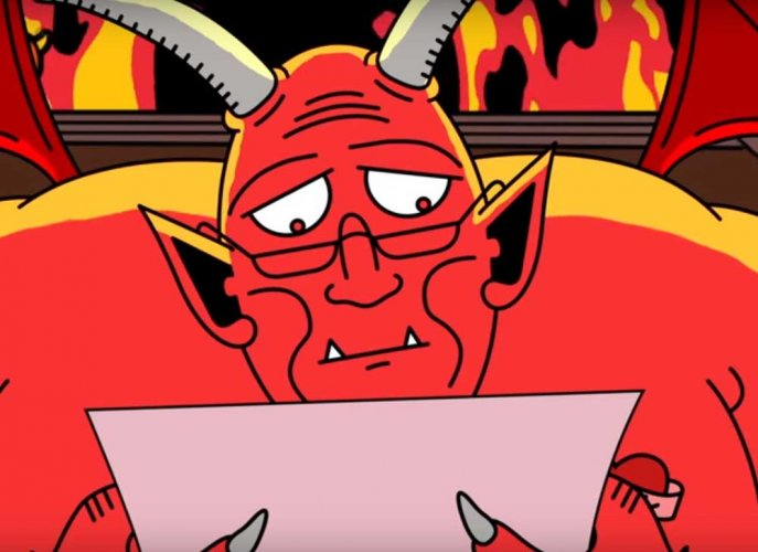 Watch: Sending a Christmas letter to Satan might actually turn out well?