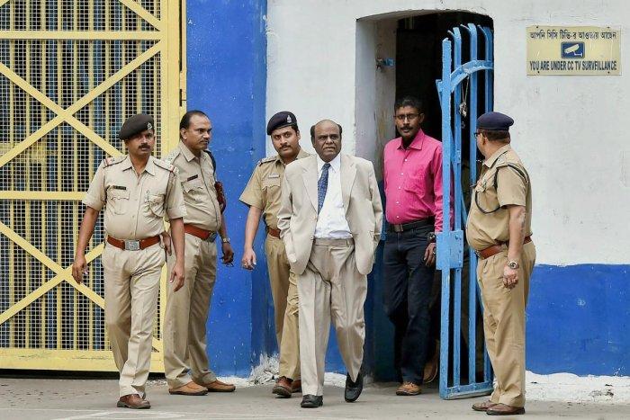 Justice Karnan released from Kolkata jail