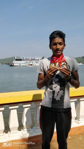 16 year-old Puttur swimmer is Rescue India champion