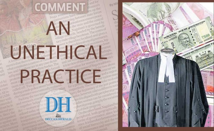 An unethical practice