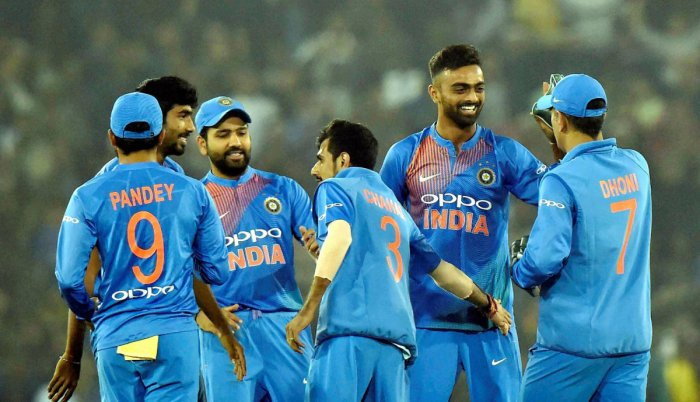India look to seal the deal