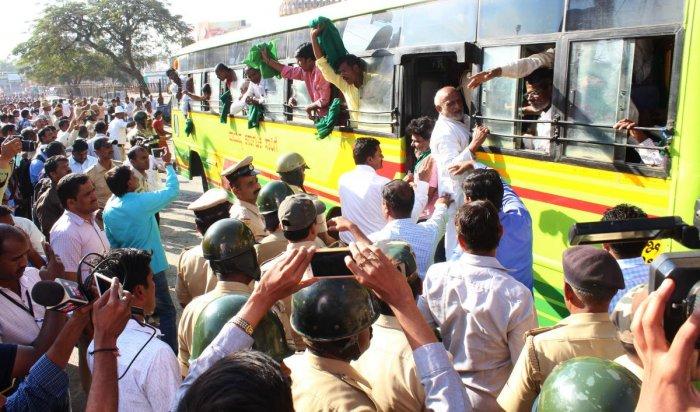 Mahadayi agitators detained