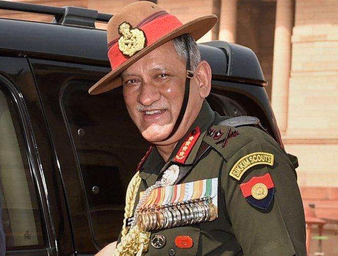 Peace talks when Pak stops supporting terror in JK: Rawat