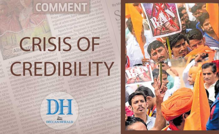 Crisis of credibility