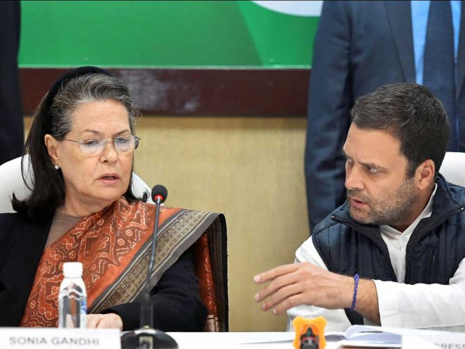 CWC backs Rahul on shaping a disciplined, young Congress