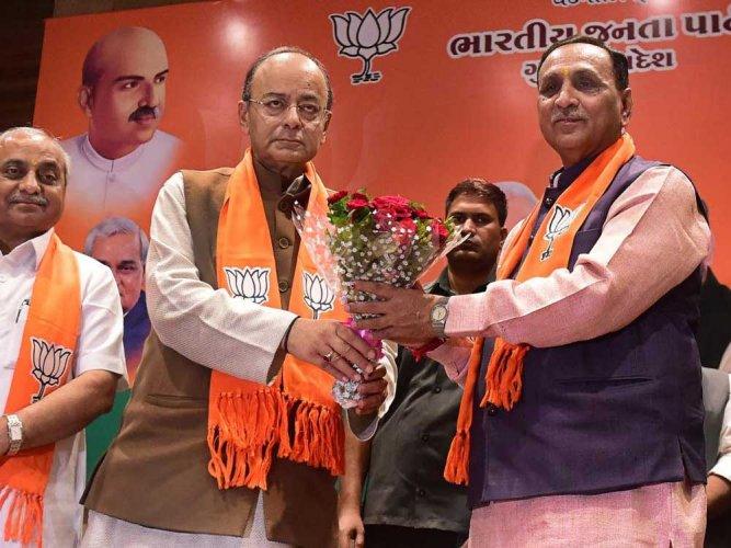 Rupani elected BJP legislature party chief