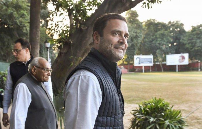 BJP's foundation based on 'lies': Rahul Gandhi