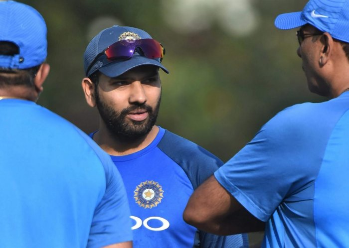 I play according to the field: Rohit
