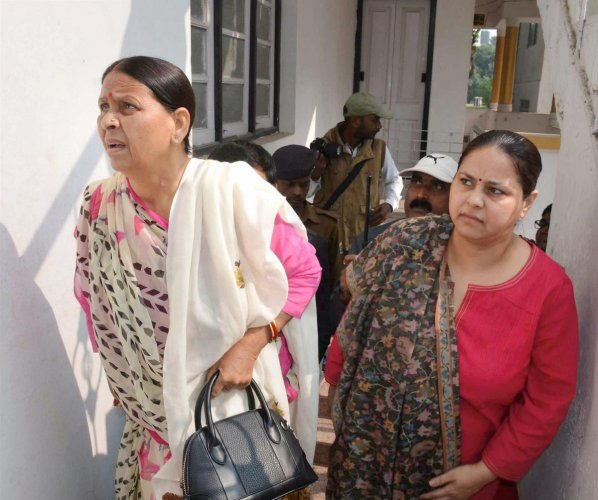 ED files charge sheet against Lalu's daughter Misa Bharti