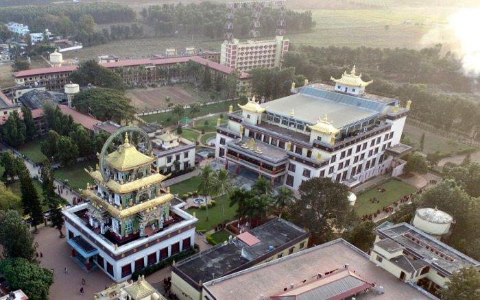 Bylakuppe Golden Temple open for public