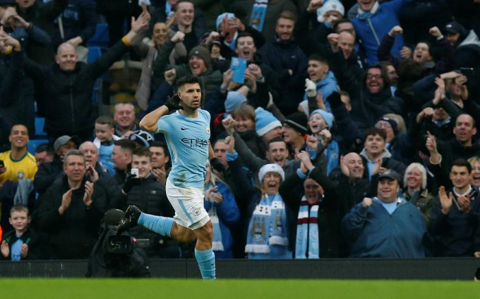 17th straight win for City