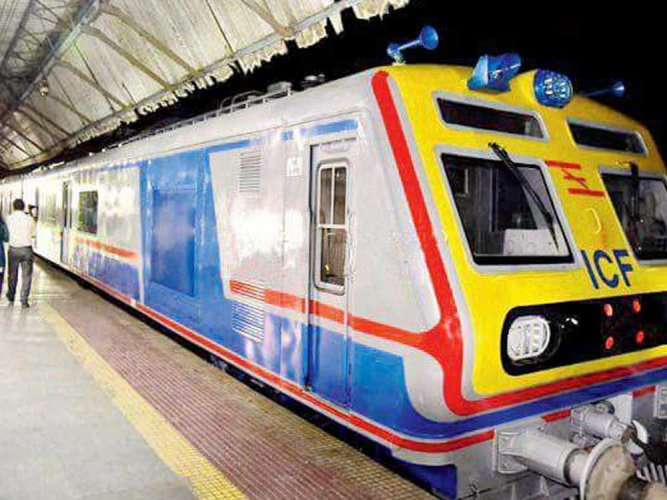 India's first AC local train to run from tomorrow