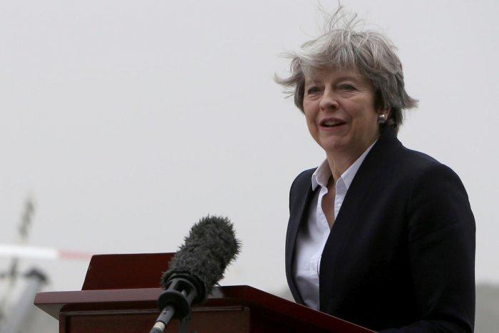 May praises 'heroes' of UK terror attacks in Christmas message