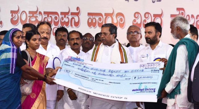 CM promises to release pension grant dues to HDMC