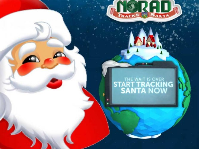 Where's Santa? US-Canadian military command tracking St Nick