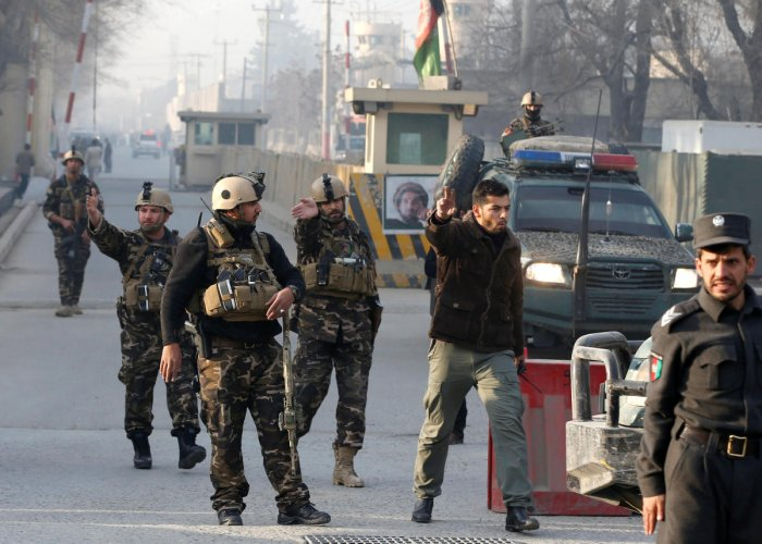 IS claims blast at Afghan intelligence agency in Kabul