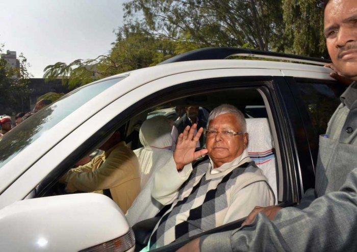 It is tough to write off Lalu from politics