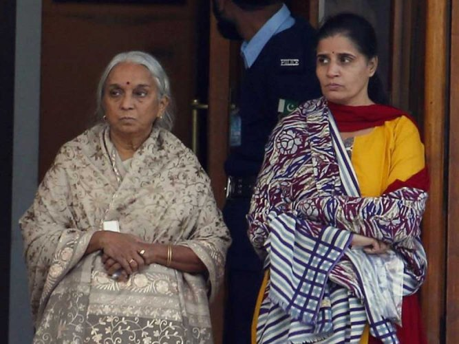Pak officials made Jadhav's wife, mother remove 'mangal sutra'