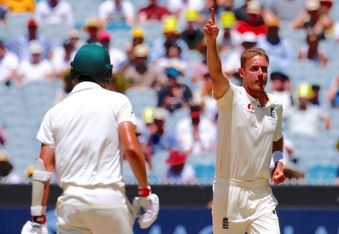 No grudge against critics, says Broad