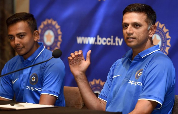 Dravid hopes colts will graduate to 'A' team soon