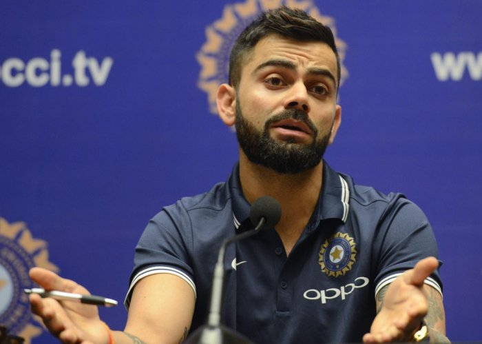Team not trying to prove a point: Kohli