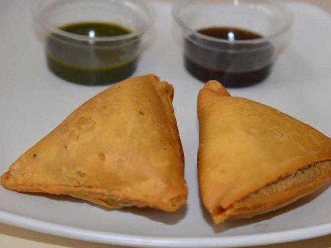 Kashmiri chilli chicken filled samosa beats chocolate in S Africa