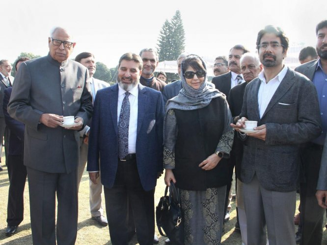Mehbooba's brother trolled after he swears in the name of 'dog'