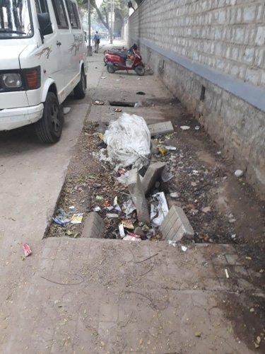 Mother Teresa Road a mess despite complaints, say residents