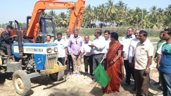 Major beautification drive planned in Shravanabelagola