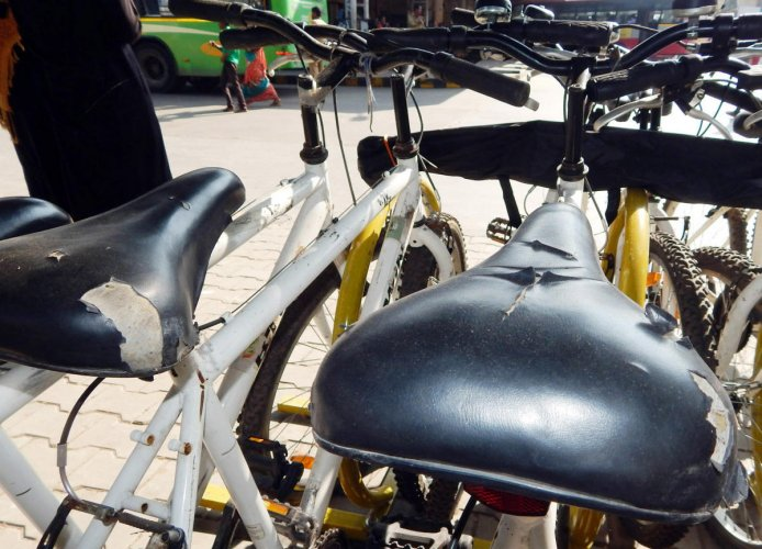 'Trin-Trin' launched as pilot project in Srirangapatna