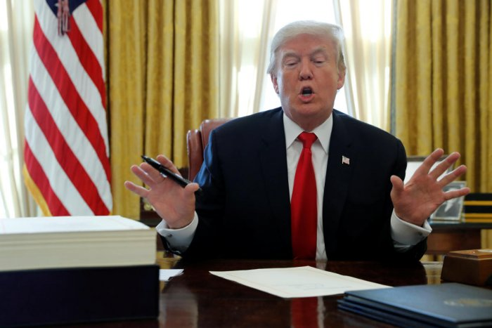 Russia probe makes US 'look very bad': Trump