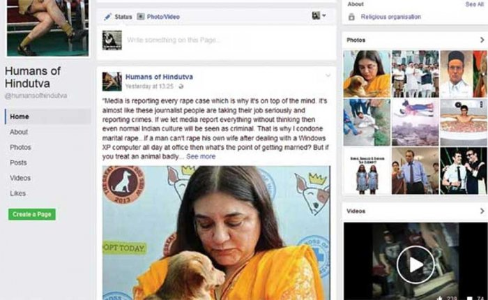'Humans of Hindutva' founder closes Facebook page after death threats