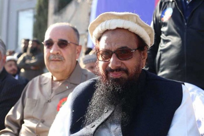 Palestine expresses 'deep regret' over envoy's presence at Hafiz Saeed event