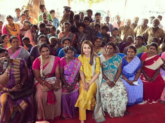 Use of toilets is critical for dignity of women: Trisha