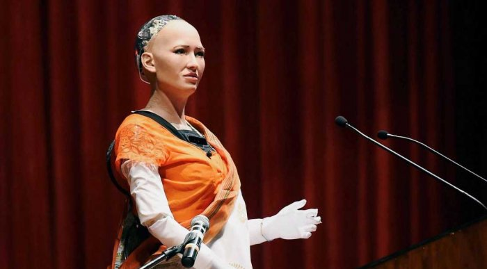 Humanoid 'Sophia' for collaborative co-existence