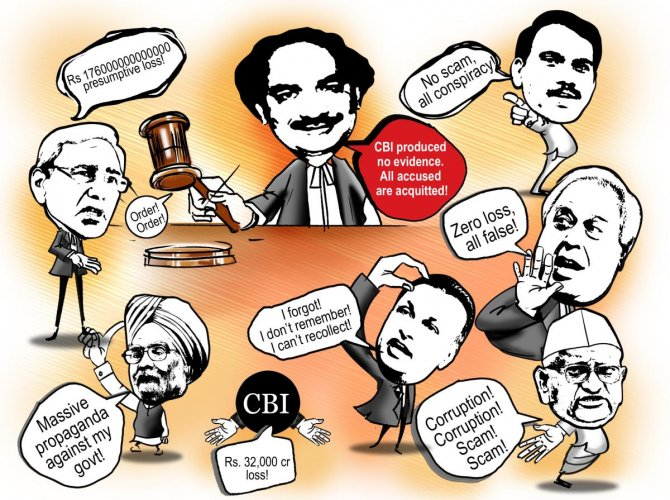 All acquitted, CBI 'guilty'