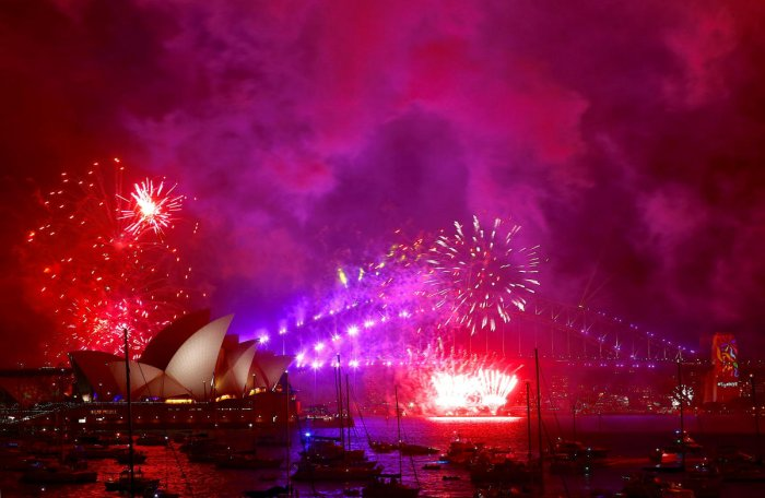 Sydney extravaganza kicks off global New Year parties