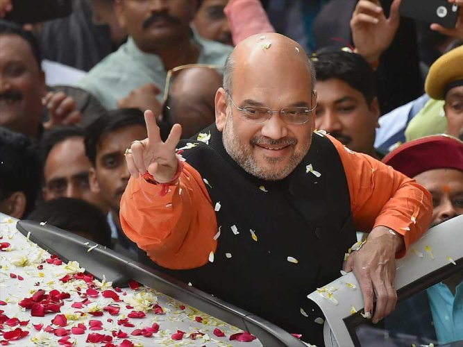 As poll clock ticks, Shah ticks off 'lax' state BJP leaders